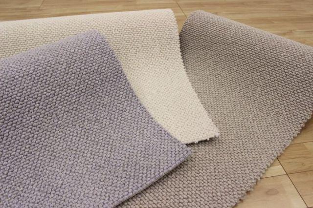 最高級 ウール カーペット 3帖床暖適応サイズ じゅうたん 絨毯 日本製 防炎 防ダニ 抗菌 制電 【品名 グランドクリエ】 3畳床暖適応サイズ 190×290cm