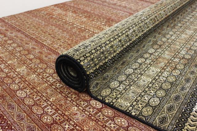 最終見切り!最高級47万ノット ベルギーウィルトン織り絨毯 カーペット 【品名 ゼバ】 3畳床暖適応サイズ 200×290cm