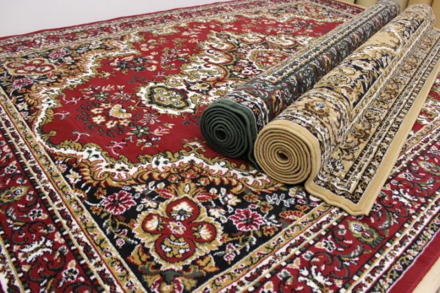 NEW!ベルギー製ウィルトン織り じゅうたん カーペット 絨毯 ラグ 【品名 シラズ4】 3畳床暖適応サイズ 200×290cm