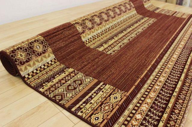 メーカー閉業品が激安!約半額 47,5000ノット ベルギー ウィルトン織り カーペット 絨毯 ラグ 【品名 ルイーネ】 約3畳 200×250cm