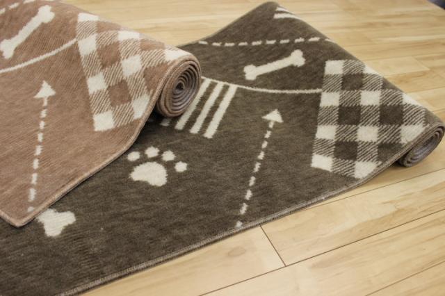廊下敷きマット!滑り止め アンモニア消臭 抗菌 防臭 カーペット 絨毯 【品名 ペットくん】 幅67×長さ740cm