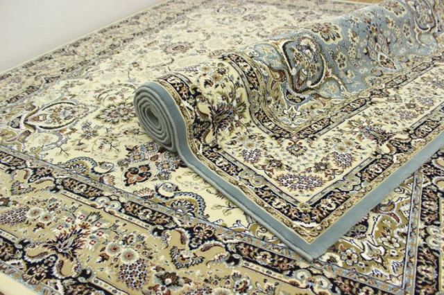 極美品の超目玉!ペルシャ イラン製 超高密度アクリル100%ウィルトン織り 75万ノット カーペット ラグ 絨毯 【品名 ペルシア 75】 約4畳 200×300cm