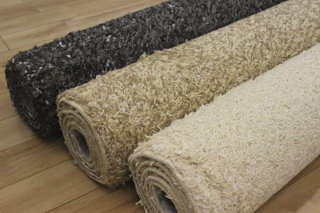 日本製ふわふわカーペットラグ 絨毯 【サンレジェ】 約2畳 190x190cm