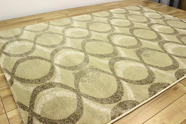 最終価格で見切ります!トルコ製 ウィルトン織り カーペット ラグ 【品名 カヴァロ】 約6畳 240×330cm