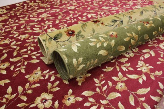 ラグ カーペット 絨毯 トルコ製 ウィルトン織り 防炎加工 花柄 高級 大幅値下げしました 【品名 廃盤 ニューパスト】 1.5畳 約130×190cm