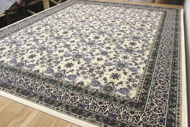 日本製 高級モケット織りカーペット ラグ 絨毯 【ポーロ】 約4.5畳 240x240cm
