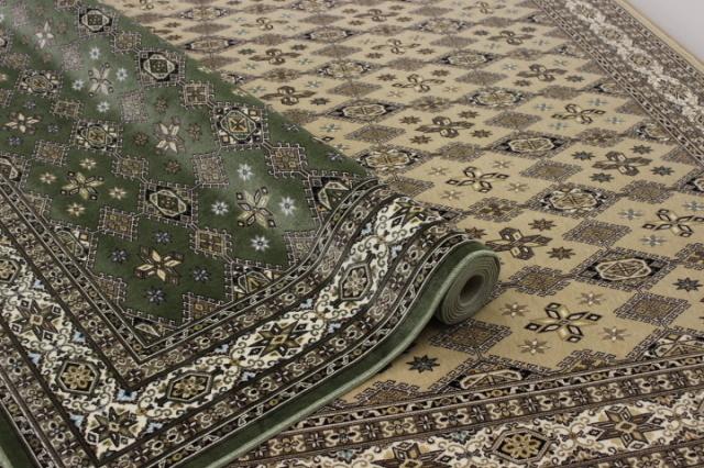 日本製 高級モケット織りカーペット 絨毯 【アポロ】 約6畳 240x330cm