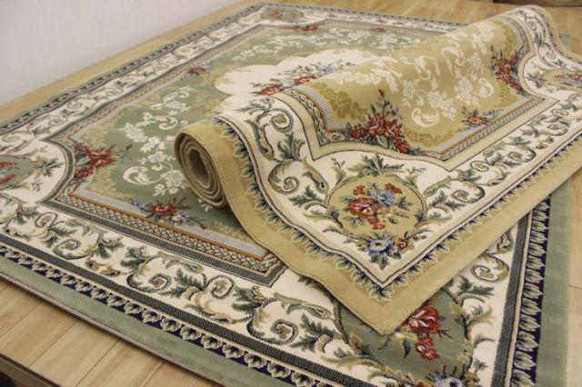 最終値下げ 絨毯 カーペット ベルギー製 ウィルトン織り 35万ノット 品名 リスカム 3畳床暖適応サイズ 200×290cm