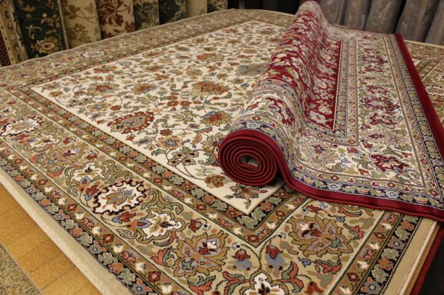 ベルギー製 ウィルトン織り 約35万ノット カーペット 絨毯 【カシュマール】 約8畳 350x350cm