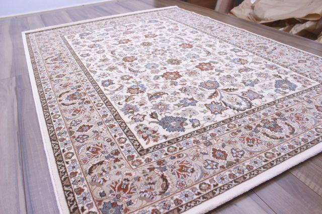 廃盤値下げ モルドバ製 35万ノット ウール 絨毯 カーペット じゅうたん 厚手 激安  約50%OFF 約3畳 160×230cm 【ベラ 160×230】