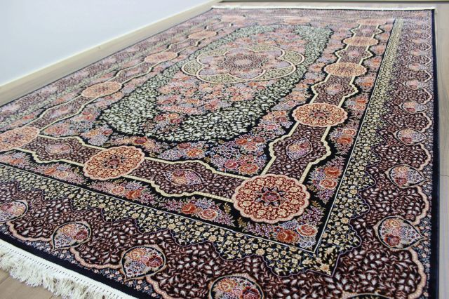 ≪極美品 サンプル品≫約50%OFF以上 最高級 ベルギー製 ウィルトン織り 125万ノット 絨毯 カーペット ラグ 【品名 スペシャルデザイン】 約4畳 200×300cm