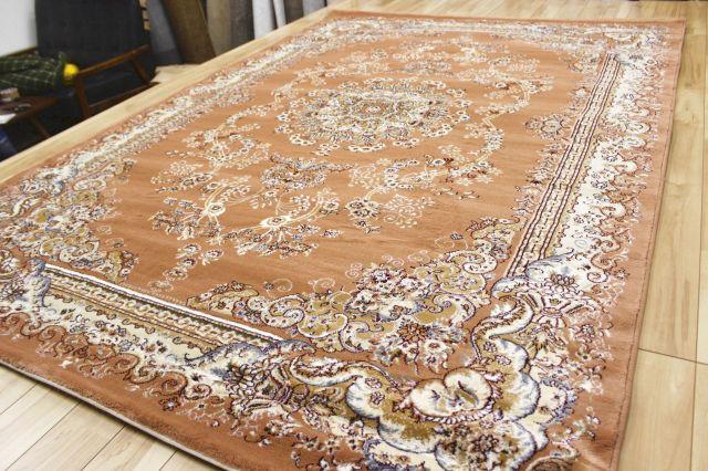 廃盤価格 トルコ製 ウィルトン織り 36万ノット カーペット クラシック 厚手 長方形 絨毯 ラグ【品名 メルシン】 約3畳 160×230cm