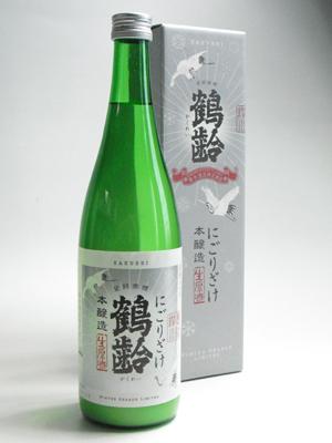 鶴齢 本醸造にごり酒720ml
