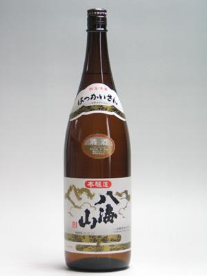 八海山 本醸造1800ml