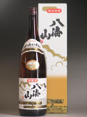 八海山 本醸造1800ml 化粧箱入