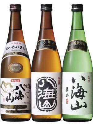 八海山 本醸造/吟醸/純米吟醸 720ml