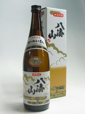 八海山 本醸造720ml 化粧箱入