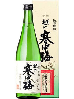 越の寒中梅 純米吟醸720ml