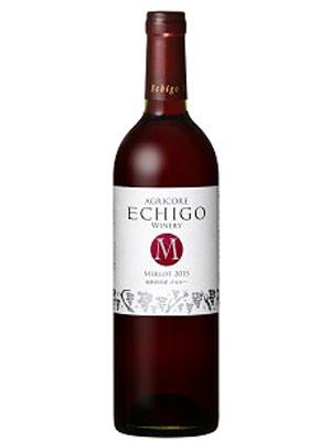 越後ワイン 越後メルロー 赤 750ml