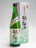 白龍酒造 越の梅酒 純米酒仕込み720ml