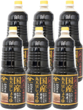 山崎醸造 国産丸大豆しょうゆ 1800ml×6本