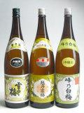 越乃三梅 本醸造×3本セット
