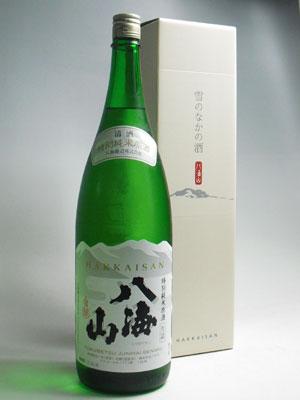 八海山 特別純米原酒1800ml 化粧箱入