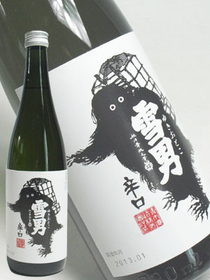 青木酒造 鶴齢 辛口雪男720ml
