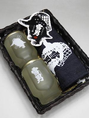 青木酒造 鶴齢 雪男セット(C)
