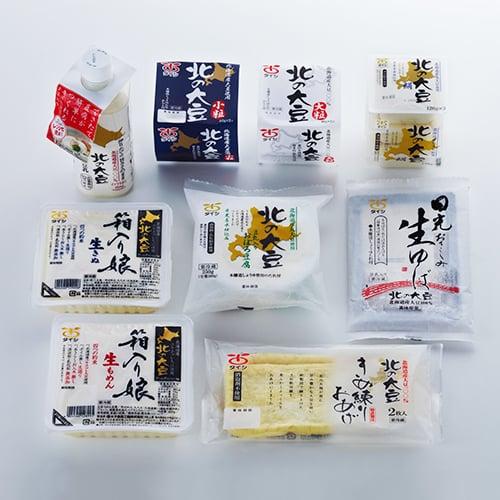 北の大豆ミニセット-201710商品01