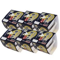 【定期購入】北の大豆 小粒納豆セット2個パック×6セット (たれ・からし付)