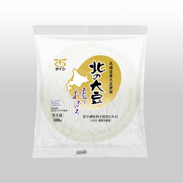 北の大豆 豆乳入りおぼろ豆腐 300g×1個(たれ付)