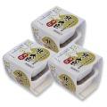 【定期購入】北の大豆 大粒納豆セット2個パック×3セット(たれ・からし付)
