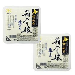 【定期購入】北の大豆 箱入り娘 生きぬ 360g×2個セット