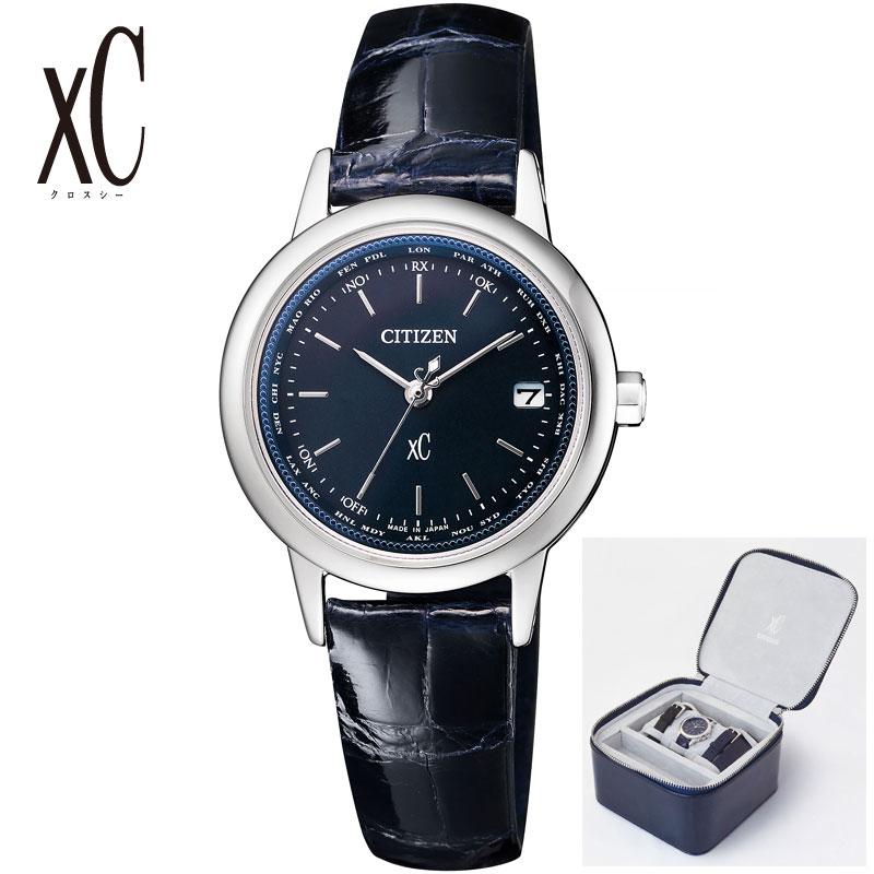 CITIZEN シチズン 腕時計 クロスシー VERYコラボ ソーラー電波 替えバンド付き レデ ィース限定 EC1140-01L