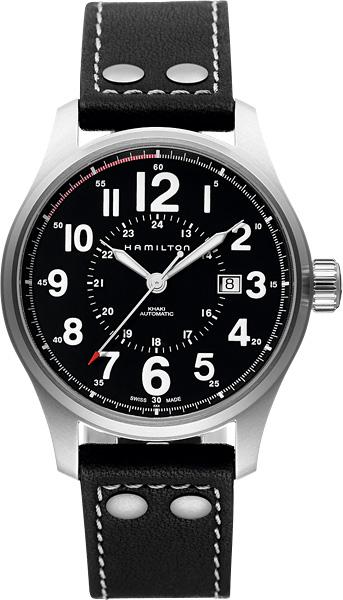 HAMILTON ハミルトン 腕時計 カーキオフィサーオート H70615733 国内正規品