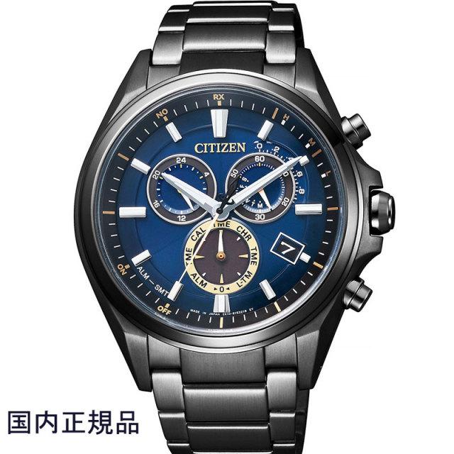 CITIZEN シチズン 腕時計 ATTESA アテッサ30周年記念限定 エコドライブ電波クロノグ ラフ Eco-Drive AT3055-57L メンズ