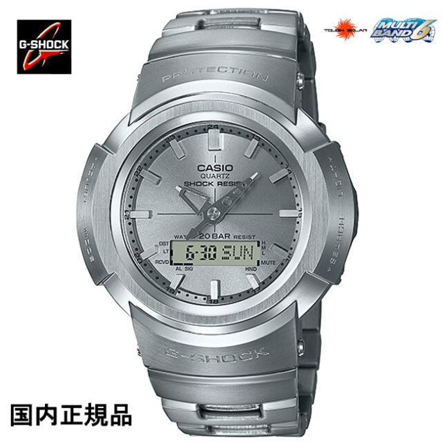 G-SHOCK ジーショック 腕時計デジタルアナログコンビネーションタフソーラー電波 AWM-500D-1A8JF メンズウォッチ 国内正規品
