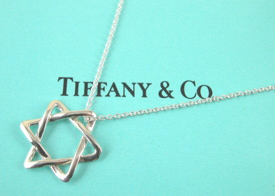 ティファニー Tiffany&Co. スターオブダビデネックレス