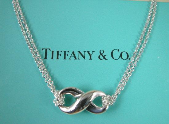 ティファニー Tiffany&Co. フィギアエイトペンダントネックレス