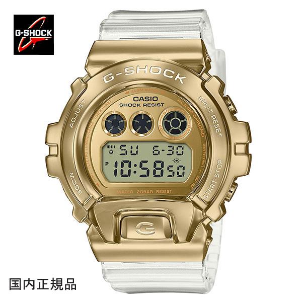 G-SHOCK ジーショック メタルカバード腕時計 GM-6900SG-9JF メンズウォッチ 国内正規品