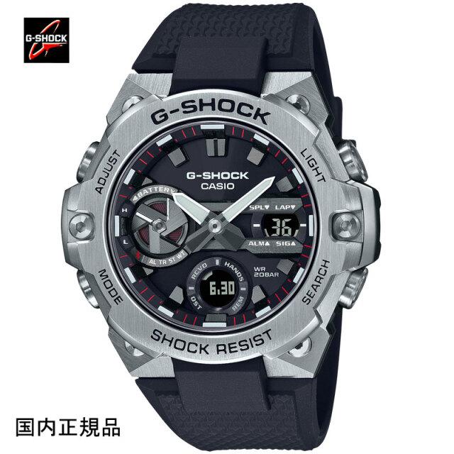 G-SHOCK ジーショック 腕時計 G-STEELソーラーBluetooth カーボンコアガード構造 GST-B400-1AJF メンズ 国内正規品
