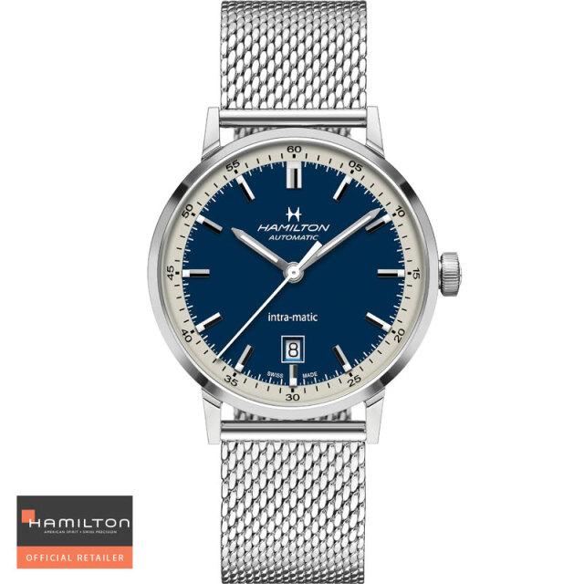 ハミルトン 腕時計 HAMILTON アメリカン クラシック イントラマチック オート Intra-Matic Auto 40mm 自動巻 H38425140 国内正規品メンズ