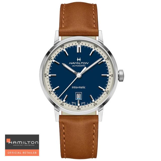 HAMILTON ハミルトン 腕時計 アメリカン クラシック イントラマチック オート Intra-Matic Auto 40mm 自動巻 H38425540 国内正規品メンズ