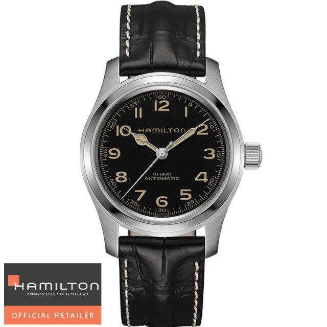 ハミルトン HAMILTON  腕時計 カーキ フィールドマーフオート 42mm H70605731 国内正規品
