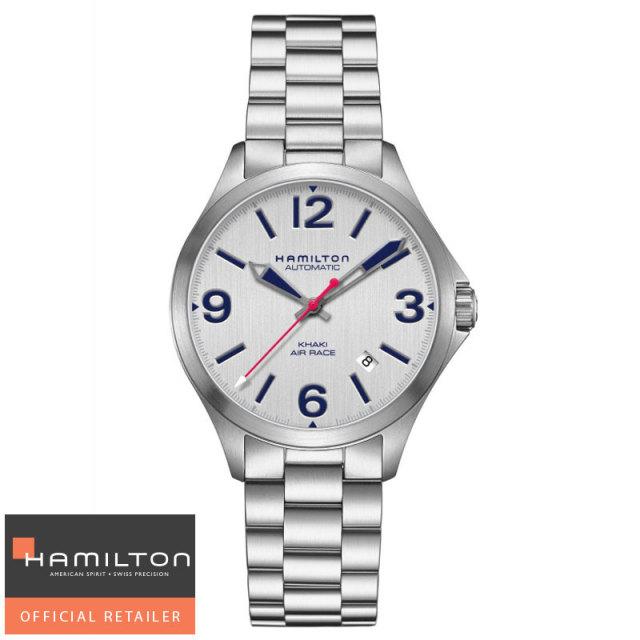 HAMILTON ハミルトン 腕時計 KHAKI AVIATION AIR RACE カーキ エアレース 自動巻 38mm H76225151 メンズ国内正規品