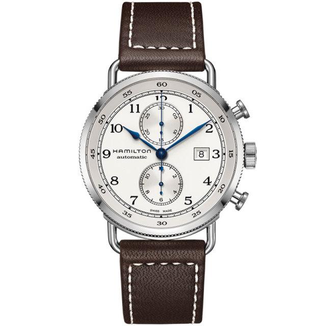 HAMILTON ハミルトン 腕時計 Khaki Navy Pioneer Auto Chrono カーキ ネイビー パ イオニア オートクロノ H77706553 国内正規品 メンズ