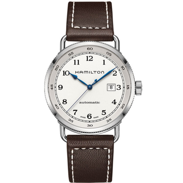 HAMILTON ハミルトン 腕時計 Khaki Navy Pioneer Auto カーキ ネイビ ー パイオニア オート H77715553 国内正規品 メンズ