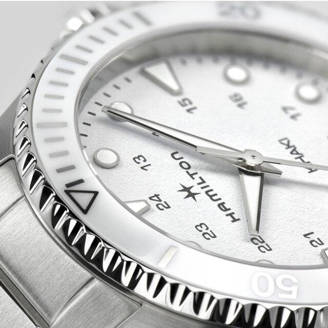 ハミルトン 腕時計 カーキ HAMILTON ネイビーScuba Quartz クォーツ 37mm H82221110 国内正規品