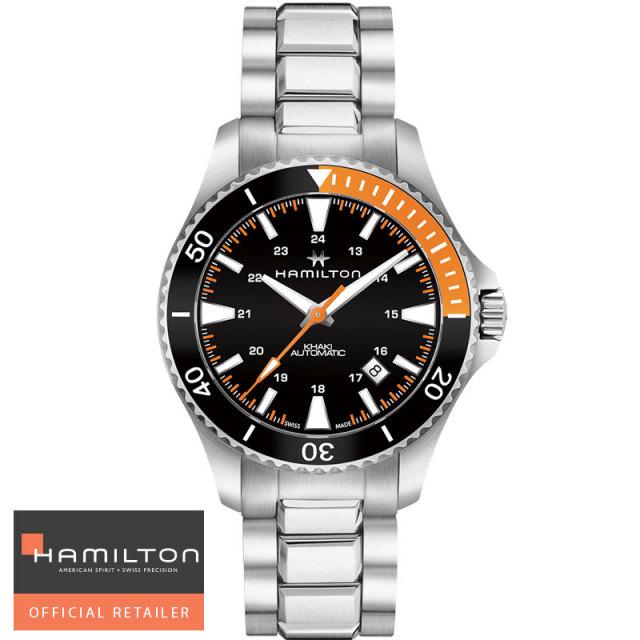 HAMILTON ハミルトン 腕時計 カーキネイビー スキューバオート Khaki Navy Scuba  Auto 自動巻き H82305131 メンズ 国内正規品